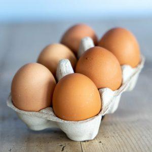 6 Farm Eggs